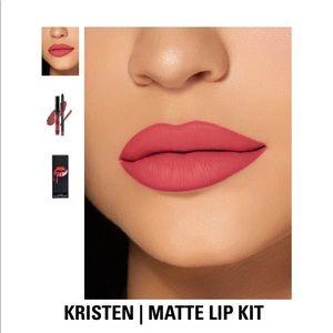 Kristen matte lip kit